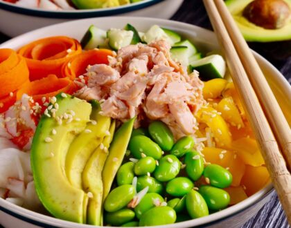 What's in a Poke Bowl Trend: A Nutritionist Explains