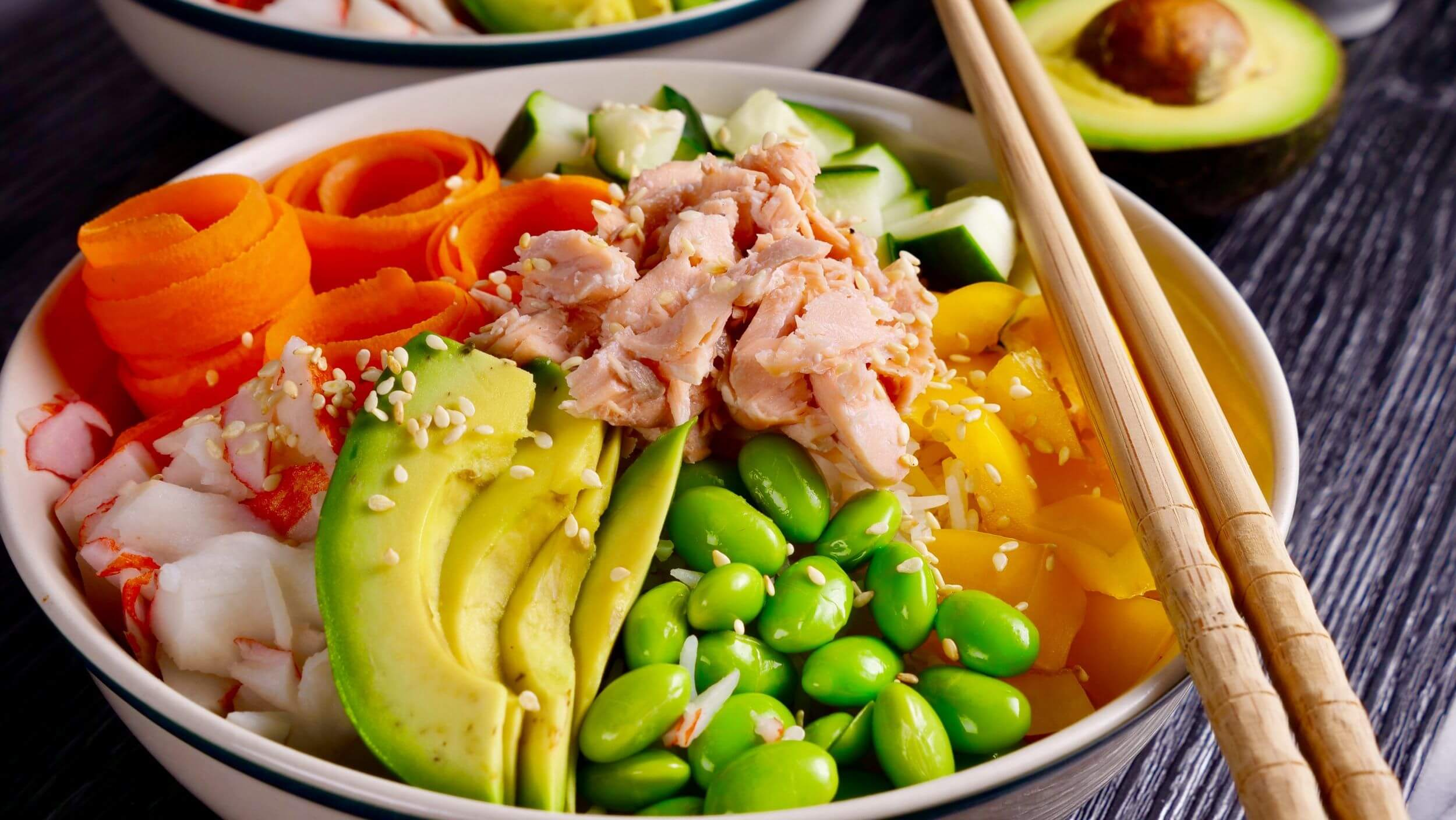 What's in a Poke Bowl Trend A Nutritionist