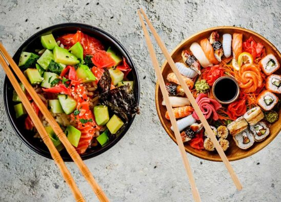 Battle of the Foods: Which is Healthier Poke or Sushi?